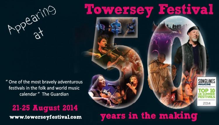 Towersey Festival banner